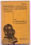voorlichtings boekje over gifgas behandeling uit 1939