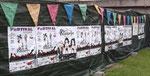 Affichage au festival des Vers Solidaires de St Gobain.