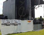 """Affichage Concert de """"l'été du Conseil Général de l'Aisne le 07 07 2013 à Laon"""""""