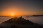 Sonnenaufgang Drei Gleichen, 10.2012