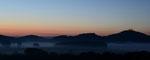 Sonnenaufgang Drei Gleichen, 9.2012