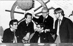 THE CONCORDS 1968 vlnr: Diederick Benjaminsz - Camiel de Krijger - Danny Benjaminsz - Wim Philipsen - Bram de Croo