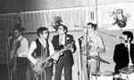 THE CONCORDS 1970 vlnr: Carlos Hoogwijk - Diederick Benjaminsz - Danny Benjaminsz - Leon van Leuven - Camiel de Krijger