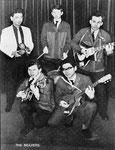 THE BEAVERS ca. 1963 vlnr: John Marjon - Herbert Kopetzky - Tom Wieringa - Ed Klee - Rudi Pesch