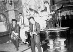 LES CHIMES - Rabe's Hotel, Uetersen 1963 vlnr: Benny Latoel - Hans Ramakers van Praag - Huib Liauw - Hans de Wekker