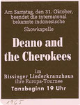 DEANO & THE CHEROKEES