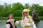 Louis XIV. mit Hofdame