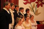 vor dem Jane Austen-Auftritt