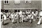 Schulfst 14. Juli 1979 Vorbereitung Luftballonwettbewerb