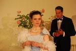 """Alexandra in """"Der Schwan"""" mit Peter Fernbach"""