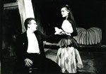 """1992 Amanda in  """"Das Spiel vom Meister Siebentot"""" mit Jörg Klettenheimer"""