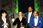 """1999 Lilli in """"Der ewige Golem"""" mit Luzia Nistler, Alexander Lhotzky, Rolf Schwab"""