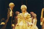 """1995/96  Maria Theresia in der Operette """"Die ungarische Hochzeit"""" mit Hans Ollinger"""