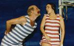 """1997/98 Klärchen in der Operette """"Im weißen Rössl"""" mit Wolfgang Kainz"""