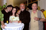 """2005 Premierenfeier """"Mirandolina"""" mit Alfons Noventa, Béla Fischer und Helmuth Wiesinger"""