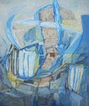 """""""BLAUER DIALOG, I"""", MISCHTECHNIK, 2000"""
