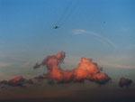 Wolkengebilde (Foto: Wolfgang Voigt)