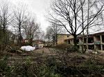 Schulhof-Blick am 3. Februar 2018