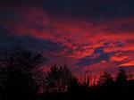 Der Himmel brennt... (Foto: Wolfgang Voigt)