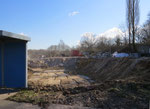 Unterirdisch: ehemaliger Kellerbereich des Süd-Traktes