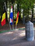Dreiländerpunkt Belgien - Niederlande - Deutschland (Foto: Wolfgang Voigt)