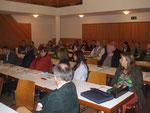 Interessante Diskussionen mit Dr. Christine Leeb (re) vom Institut für Nutztierwissenschaften, BOKU