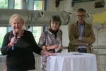 Vorstellung der Künstler und Ausstellungseröffnung durch Kuratorin Fr. Prof. Dr. Gertrud Keck