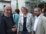 Senatsrat iR Hans Leitner, Martina Eichler und Gerfried Riegelnegg