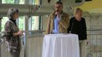 Begrüßung durch Hr. Mag. Thomas Voracek, Vertreter der Zoodirektion
