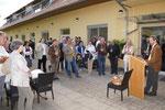 Eröffnung der Ausstellung durch Karl Bauer