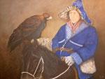 Berkutschi, Öl auf Leinen, 60 x 80 cm, 2006