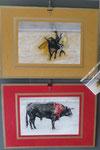 Bulls, Digigraphie (Regina Cserna)