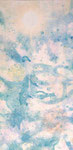 "when spring calls summer 2013  20""x10""  acrylic on canvas"