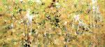 """fall 2011  21""""x 46"""" acrylic on canvas"""