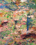 "spring  2005  23.5"" x 19.5""Mixmedia on canvas"