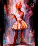 "I am  2006  24"" x 20""  Mixmedia  on canvas"