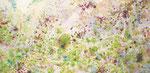 "spring shower 2011  6""x12"" acrylic on panel"