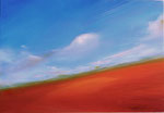 """The earth 2007  6""""x 9"""" Oil on panel"""