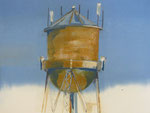 """Sentinel,"" monotype, graphite, 2013, 23x30, $950"
