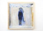 「バドミントンボーイ」  455㎜×380㎜ oil/panel/canvas 2015