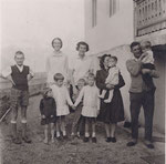 Unsere ersten Gäste Familie Bobrovski 27.07.1966