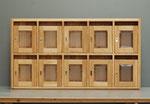 Holzbriefkasten, Eiche geölt