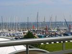 Blick von der Promenade Fliegender Holländer