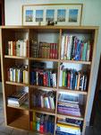 Bücherregal auf dem Flur / library in the hall