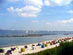 Schilkseer Strand im Sommer