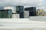 Fassaden in Oslo