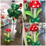 Pilz aus Luftballons. Preis: 20,00€