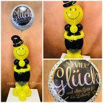 "Luftballonfigur ""Smile"" 20,00€ + Folienballon 7,50€"