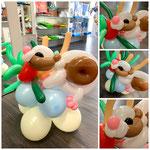 """Luftballonfigur """" Meerschweinchen""""  22,00€"""