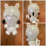 "Luftballonfigur ""Katze"" inklusive Helium.Preis: 21,00€"